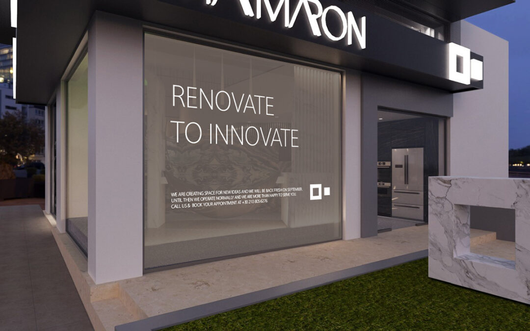We Renovate to Innovate!